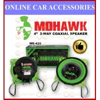 """Mohawk 4"""" inch 2 Way Coaxial Speaker 30th Anniversary Performance Green Series ME-425"""